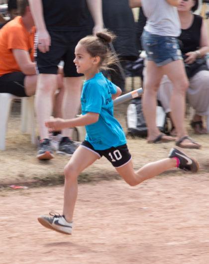Junge Läuferin